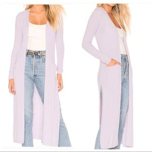 NWT! Lovers + Friends ribbed sweater duster